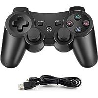 Dhaose senza fili Controller di gioco per PS3, Bluetooth Controller con cavo di caricabatterie, Controller Wireless…