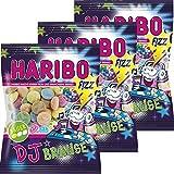 Haribo DJ Brause 3er Set (3x200g Beutel)