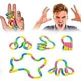 ABCMOS Aliviar el estrés Autismo Anti-estrés TDAH Guantes sensoriales Juguete de descompresión Juguete