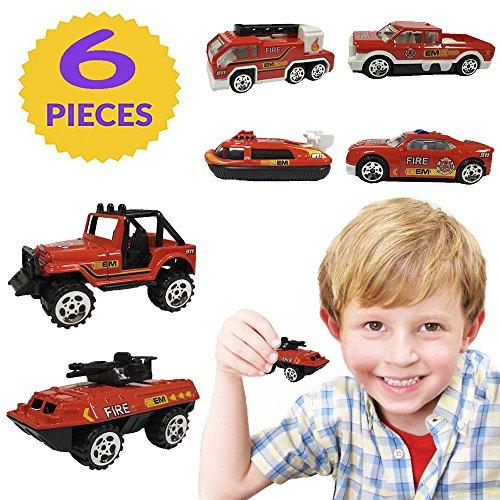Spielzeug für 2-6 Jahre alten Jungen Spielzeug, TOP Geschenk Spielzeug Autos für Kleinkinder pädagogisches Spielzeug Hot Hheels Red TGUKTGTC14