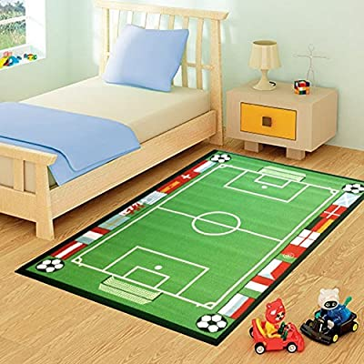 FunkyBuys® Kids Childrens Rug Mat Modern Design Play Mat Nursery Rugs Non Slip - 3 Sizes Best Price - inexpensive UK light store.