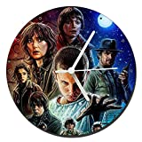 MasTazas Stranger Things Reloj de Pared Wall Clock 20cm