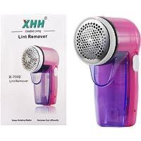 Kanff Rasoir Electrique Anti-bouloche/anti-peluche Rasoir Rechargeable pour Tissu Vêtements Tapis,etc. Rose