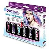Paintglow Rebellious Colours Einhorn Haarfarben Strähnchen Set (Mehrfarbig)