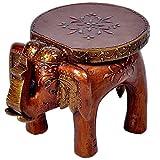 #10: Handicrafts Gift House Home Decor Handicrafts Designer Wooden Elephant Stool Handicraft Gift 101