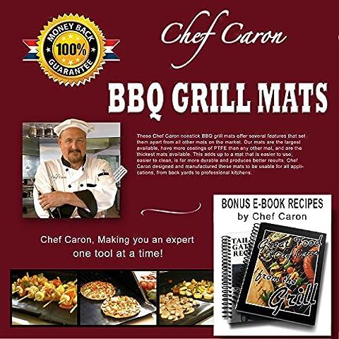 Chef Caron® Barbacoa Mat, Diseñado para el profesional 17