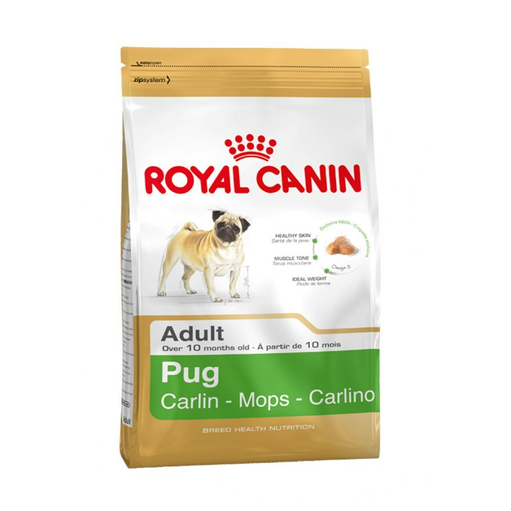 15KG Royal Canin Pug Adult Complete Dog Food (2 x 7.5kg)