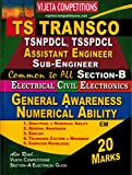 TS TRANSCO AE, Sub-Engineers ( Section-B ) General Awaerness, Numerical Ability Special [ ENGLISH MEDIUM ]