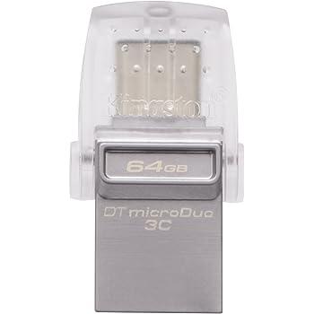 Kingston DataTraveler MicroDuo 3C DTDUO3C/64GB USB 3.0/3.1 Type-A et Type-C