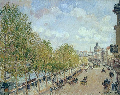 Das Museum Outlet-Die Quay Malaquais in the Afternoon, Sunshine, 1903-Poster (mittel)