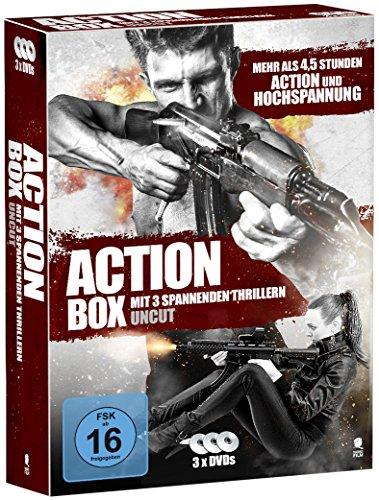 Die große Action Box (Uncut) [3 DVDs]