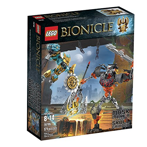 LEGO-Bionicle-70795-Mask-Maker-Vs-Skull-Grinder-Building-Kit-Multi-Colored-One-Size