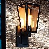 LIYAN Minimaliste Applique murale Bougeoir E26/23500 BaseLa lampe de cloison en verre créatif fort nobulb,industriel extérieur