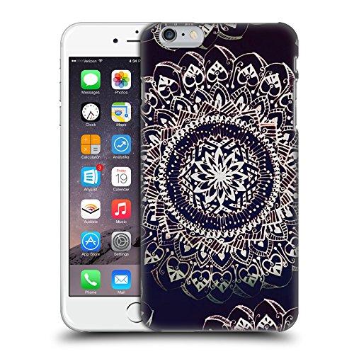 Officiel Magdalena Hristova Noir Et blanc Mandala Étui Coque D'Arrière Rigide Pour Apple iPhone 7 Plus / 8 Plus Cuivre