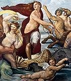 Fine Art Print–Triumph Of Galatea Detail von Bentley Global Arts Gruppe, Papier, multi, 11 x 13