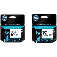 HP 301 CH561EE Cartuccia Originale, Pacco din 2