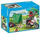 Playmobil Vacaciones - Motorista con tienda de campaña (5438) - Playmobil - amazon.es
