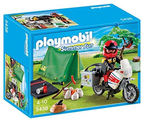 Playmobil Vacaciones - Motorista con...
