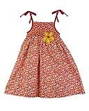 SSMITN Girls' Dress(SK2214_2-3Y, Red, 2-...