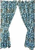 STAR WARS CLONE TROOPER GARDINENSCHALS - Vorhang 2 Schals mit Raffhalter aus USA