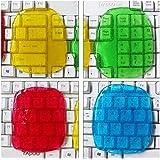 MQFORU Lot de 4 gels de nettoyage pour clavier de guitare, clavier, ordinateur de voiture, ordinateur portable, super gel de