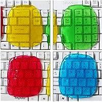 MQFORU Lot de 4 gels de nettoyage pour clavier de guitare, clavier, ordinateur de voiture, ordinateur portable, super…