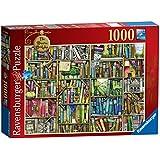 Ravensburger The Bizarre Bookshop - Puzzle (1000 piezas), diseño de tienda de libros estrafalaria