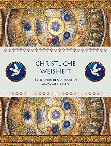 Christliche Weisheit: Kartenset - 52 inspirierende Karten zum Aufstellen