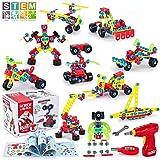 TINOTEEN Bloques de Construcción, Juguetes para Niños de 5, 6, 7 Años y Mayores, Aprendizaje de Juegos de Construcción Educat