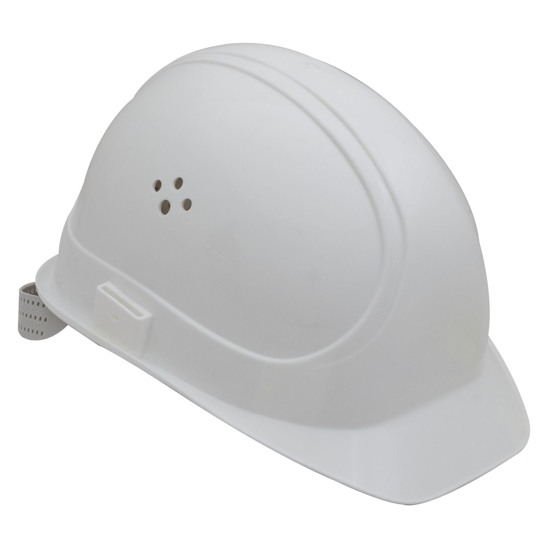 VOSS Bauschutzhelm Inap-Master 6 Polyethylen, weiß, 11409003