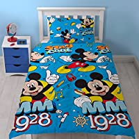 "Parure de lit simple multicolore Disney Micke Mouse ""Cool"""