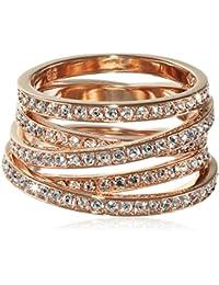 Swarovski señorías-anillo resortes Swarovski-cristal de metal 5063924