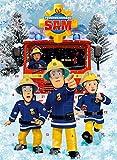 Feuerwehrmann Sam Adventskalender mit Milchschokolade 75g
