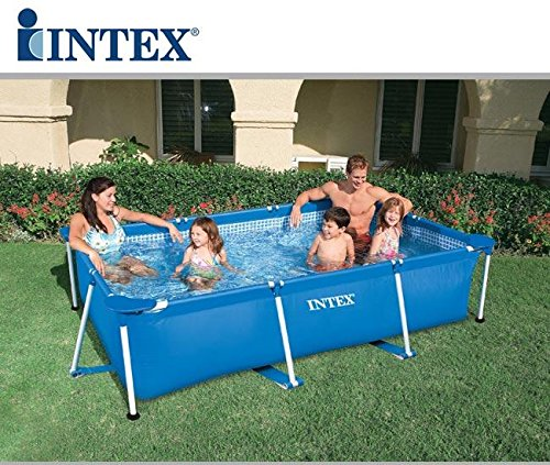 INTEX Piscina Familiar Metal Frame 300 m x 200 m x 75 cm