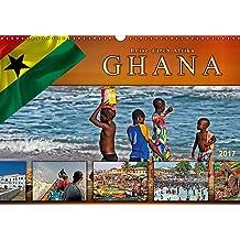 Reise durch Afrika - Ghana (Wandkalender 2017 DIN A3 quer): Ghana, faszinierender Staat im Westen Afrikas. (Monatskalender, 14 Seiten ) (CALVENDO Orte)