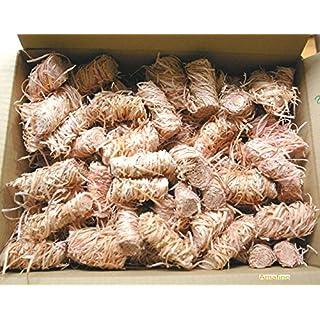 Bio Anzünder 500 Stück Holzwolle Wachs