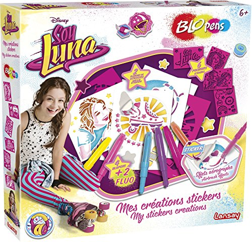 Lansay - 23555 - Blopens - Mes Créations Stickers Soy Luna