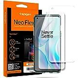 Spigen, 2 stuks, Screenprotector compatibel met OnePlus 8, NeoFlex, Case friendly, TPU-film, waterinstallatie, full coverage