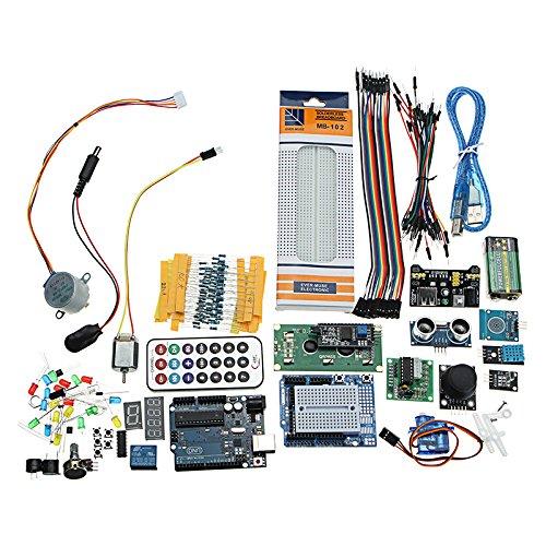LaDicha Super Project UNO R3 Starter Kit Mit Relais-Jumper-Platine Led Sg90 Servo Für Arduino (Starter-digitalkamera)