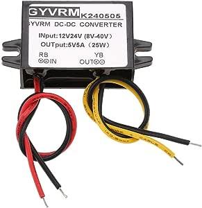 Abwärtswandler 12v 24v Auf 5v 5a Dc Dc Abwärtswandler Abwärts Stromversorgungsmodul Baumarkt