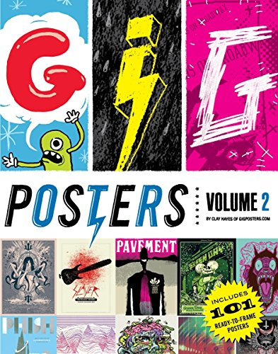 Gig Posters Volume Ii: Rock Show Art of the 21st Century