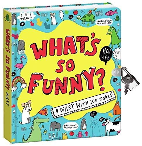 Peaceable KingdomWas ist so lustig? X6.25 Schloss und Schlüssel-Tagebuch mit Witze und magischen Lichtgriffel