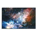 WuWxiuzhzhuo Heißer Verkauf Ungerahmt Galaxy Universum Planet Poster Dekorative Malerei Wandkunst Geschenk