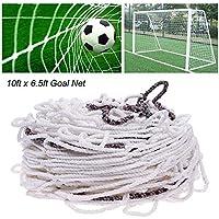 Kinbelle 3x 2m Pleine Taille Football Soccer Goal Post Net Sport Match entraînement Junior