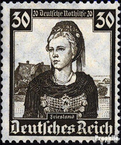 Deutsches Reich 596 1935 Volkstrachten (Briefmarken für (Volkstrachten Französische)