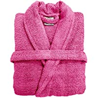 6ff8270f14 Spa Collection Home Mens and Ladies 100% Cotton 550GSM Terry Towelling  Adults Shawl Collar Bathrobe
