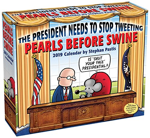 Pearls Before Swine 2019 Day-to-Day Calendar - Desktop-kalender-easel