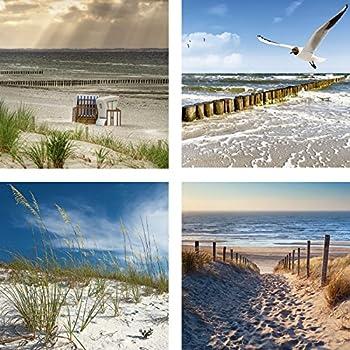 Bild Leinwandbilder Canvas Nordsee Sand Strand Designbild A05400