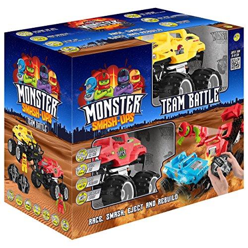 Toyrific TY6007 Monster Smash Ups - Mando a Distancia para Carreras y Camiones 2 en 1
