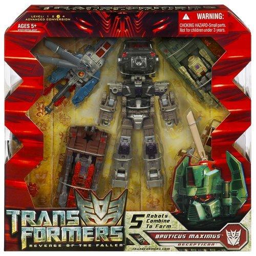Transformers Movie Revenge of the Fallen Exclusive Combiner Set Bruticus Maximus